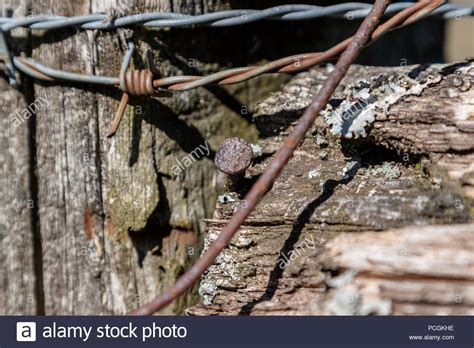 Fence Post Close Up Stock Photos Amp Fence Post Close Up