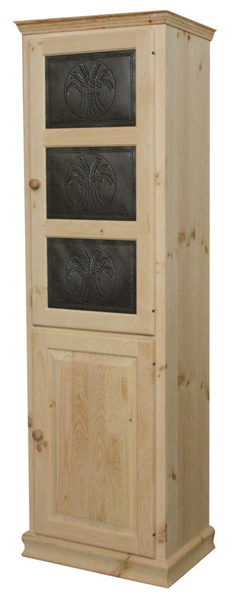 Kitchen Cabinets With Tin Inserts Storage Cabinet With Three Tin Inserts On Door Kitchen