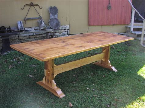harvest table bench plans bakes april 2015