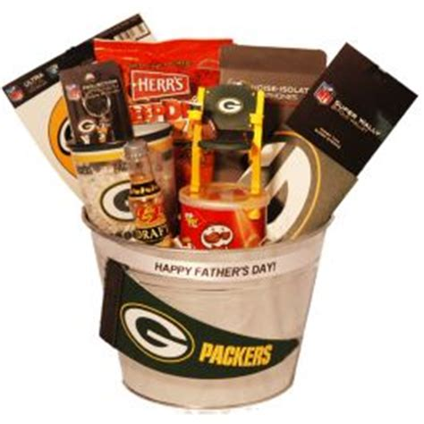 gifts for packers fans green bay packers fathers day gift basket gifts for