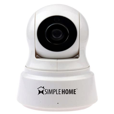 simplehome xcs71002wht wi fi pan and tilt security