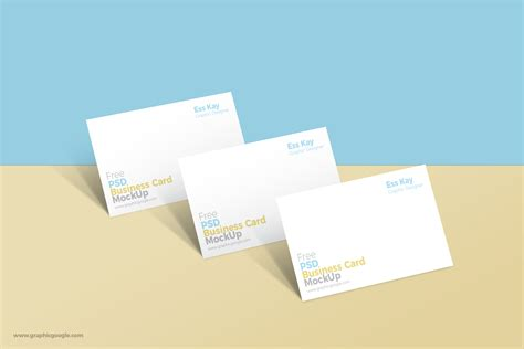 Business Cards Templates Psd by Free Business Card Mockup Psd Template Age Themes