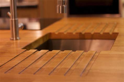 Arbeitsfl Che K Che 219 by Solide Holz Arbeitsfl 228 Che K 252 Chenarbeitsplatten Holz