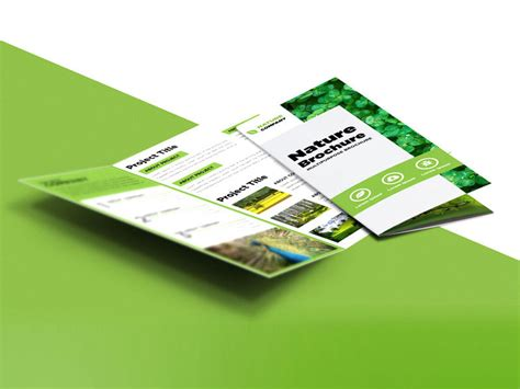 Free Tri Fold Brochure Template Downloads 2 by Freebie Nature Tri Fold Brochure Template Free Psd