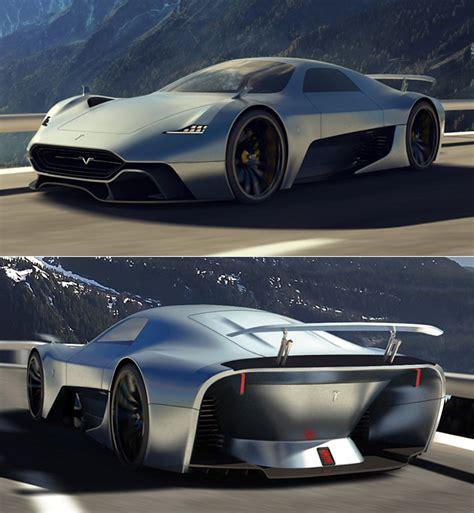 tesla supercar concept tesla model h supercar concept revealed has six electric