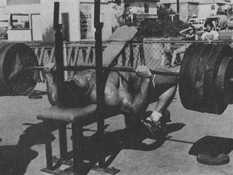 arnold schwarzenegger bench max diesel crew muscle building athletic development