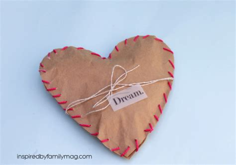 Crafts With Paper Bags - valentine s day paper bag crafts blogs justmommies