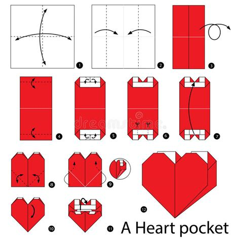 Make A Paper Pocket - step by step how to make origami a