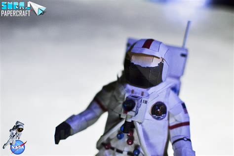 nasa astronaut papercraft by suraj281191 on deviantart