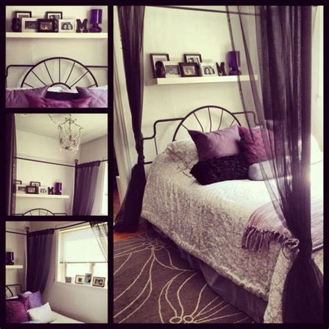 black white and purple bedroom my bedroom purple black grey and white my stuff