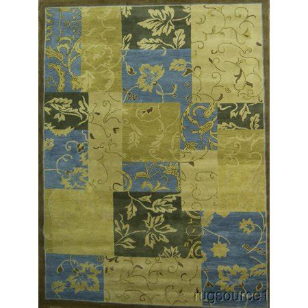 10 X 13 Living Room Rugs by Rugsource Oushak Floral Made Area Rug 10x13