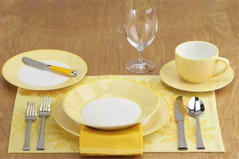 table setting images how to set a table taste of home