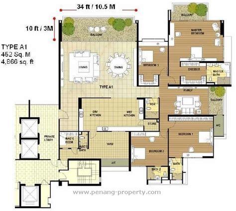 1 tanjung penang floor plan penang property infinity condominium in penang malaysia