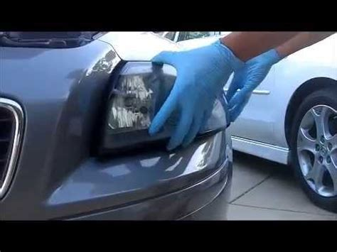 volvo   headlight  beam replacement youtube