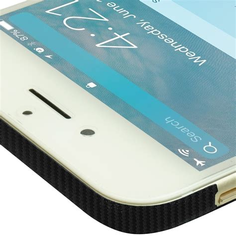 Iphone 7 Carbon skinomi techskin apple iphone 7 black carbon fiber skin