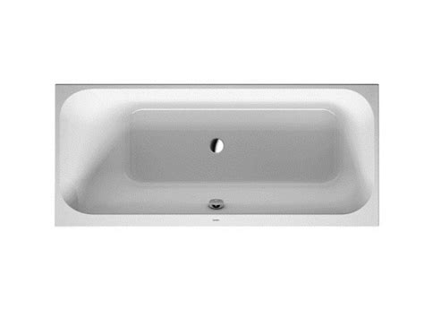 duravit happy d bathtub happy d 2 rectangular bathtub by duravit design sieger design