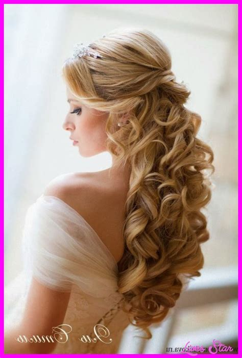 Half Up Bridal Hairstyles by Bridal Hairstyles Half Up Half Livesstar