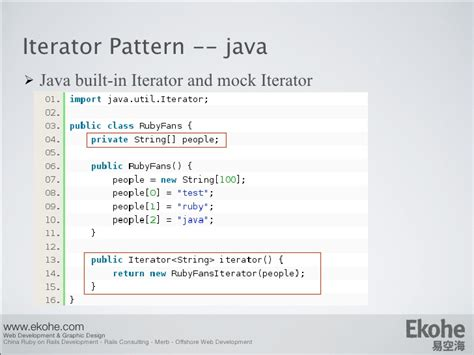 pattern in java logic design pattern from java to ruby
