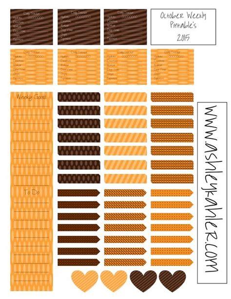 printable planner stickers 2015 free printable planner stickers october weekly 2015