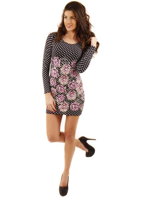 navy polka dot mini dress floral print mini dress mini dresses