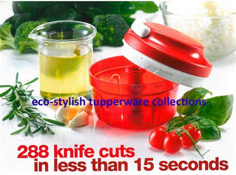 Tupperware Eco eco stylish tupperware collections turbo chopper 288
