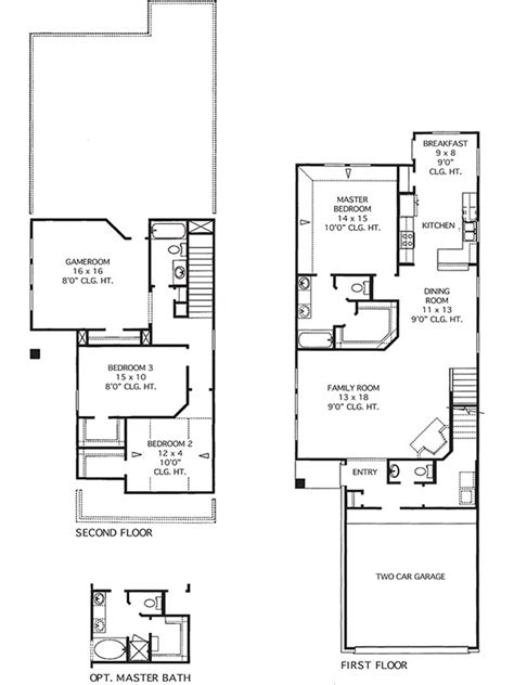 sterling homes floor plans house plans the sterling at imperial trace in houston