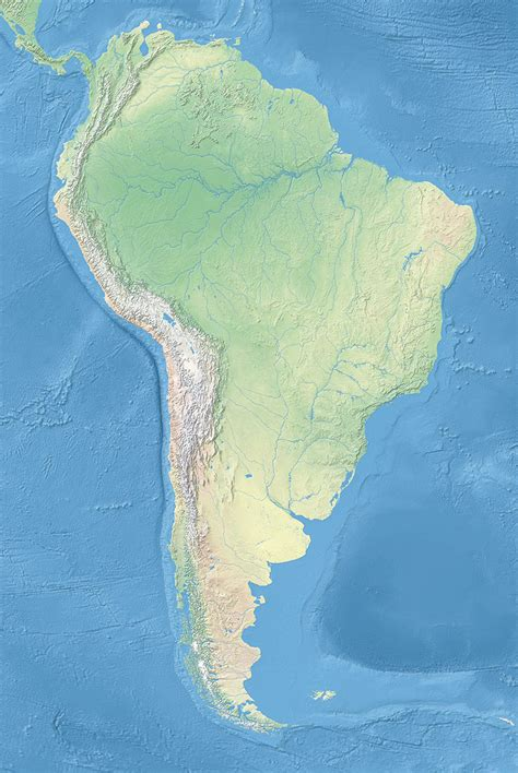 south america map free political map of south america 1200 px nations