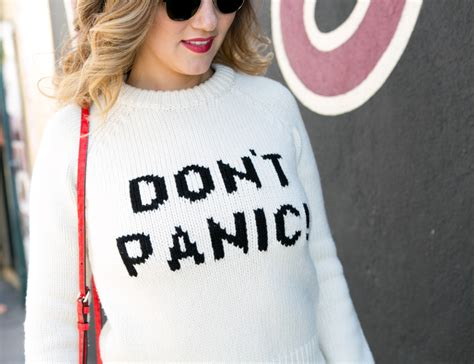 Sweater Dont Panic don t panic the style sauce