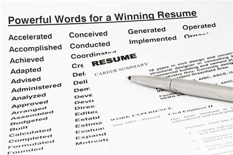 A Z Resume Words by Resume Keywords And Tips For Using Them
