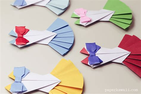 Origami Crafts - origami sailor moon dress tutorial paper kawaii