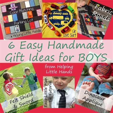 Handmade Birthday Gifts For Boys - pieces by polly 6 easy handmade gift ideas for boys
