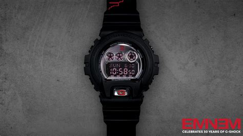 the exclusive g shock new limited edition gd x6900mnm sign by eminem