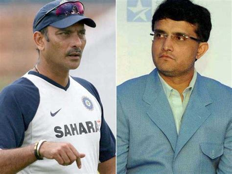 ravi shastari hair transplant ravi shastri hints sourav ganguly didn t want him as india