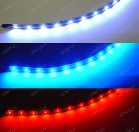 Led Interior Light Strips Installed On Honda Civic Foot Car Interior Led Light Strips