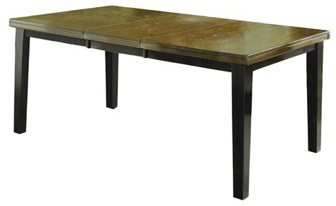 Black Dining Table With Leaf Hillsdale Killarney Dining Table W Butterfly Leaf Black Antique Brown 5381 815