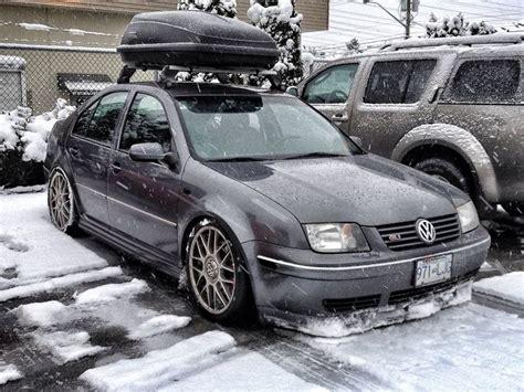 Slammed Mk4 Jetta Gli Snowplow Cool Pics Pinterest