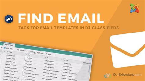 Find E Mail Tags For E Mail Templates In Dj Classifieds Easily Youtube Dj Classifieds Template