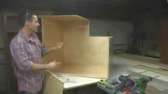 kitchen cabinets building a lazy susan youtube