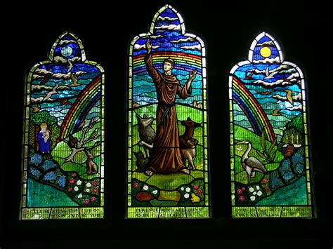 stained glass windows st francis of assisi new orleans la norgrove studios new work