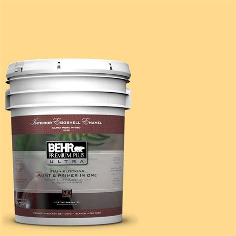 home depot 5 gallon interior paint behr premium plus ultra 5 gal p270 4 egg eggshell