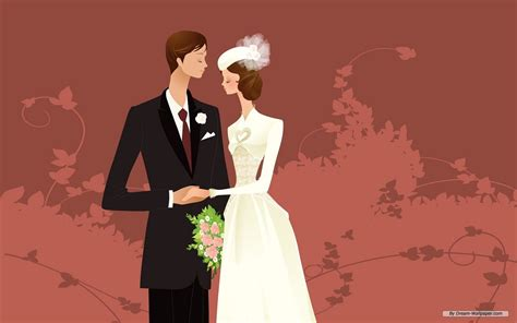 Animation Wedding by Animated Wedding Weddings Wallpaper 31771128 Fanpop