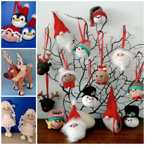 wonderful diy crochet christmas ornaments with free pattern