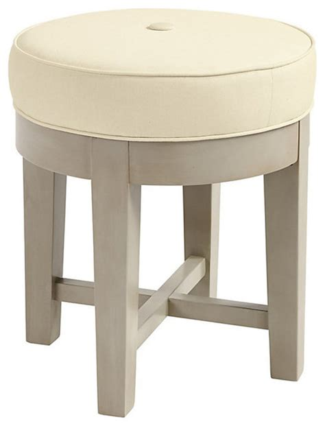 Vanity Stool Cover by Trudy Vanity Stool Slipcovers And Chair Covers By Ballard Designs