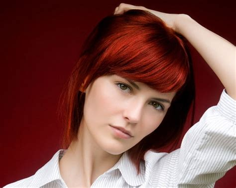haircuts for redheads short haircuts for redheads