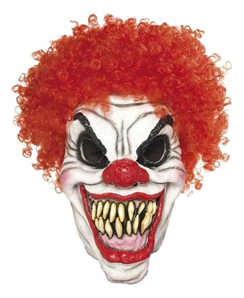 printable scary halloween masks for free scary clown mask combomphotos flickr