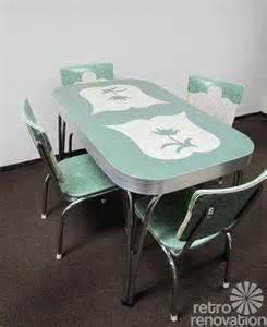 Retro Dining Table Sets Dinette Sets Retro Renovation
