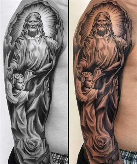 catholic tattoo designs catholic guardian tattoos www pixshark