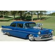 1957 Chevrolet Chevy Bel Air Pro Street Rod Hor