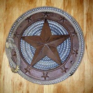 western star home decor texas western rope handmade metal star cowboy lasso ranch