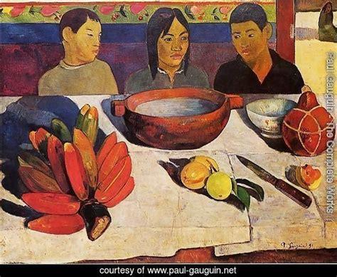 libro paul gauguin a complete paul gauguin the complete works the meal aka the bananas paul gauguin net